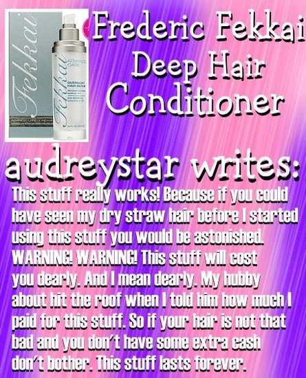 Beauty Product Junkies Picks: Very Deep Conditioners