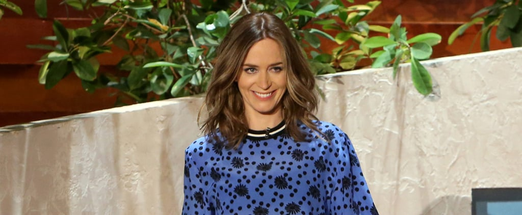 "Emily Blunt Opens Up About ""Stinking Cute"" Daughter Hazel"