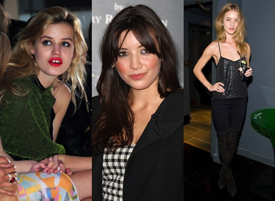 Nominees for 2009 British Fashion Awards Include Georgia May Jagger, Daisy Lowe and Rosie Huntington-Whiteley 2009-11-27 01:20:42