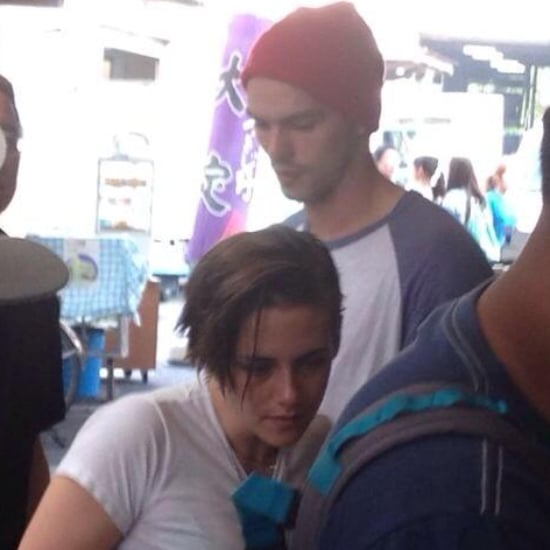 Kristen Stewart and Nicholas Hoult in Japan 2014 | Pictures