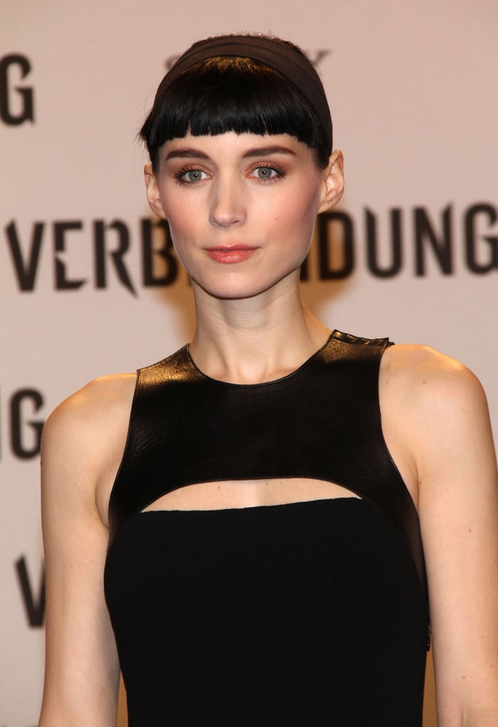 Rooney Mara at the premiere of The Girl With the Dragon Tattoo in Berlin.