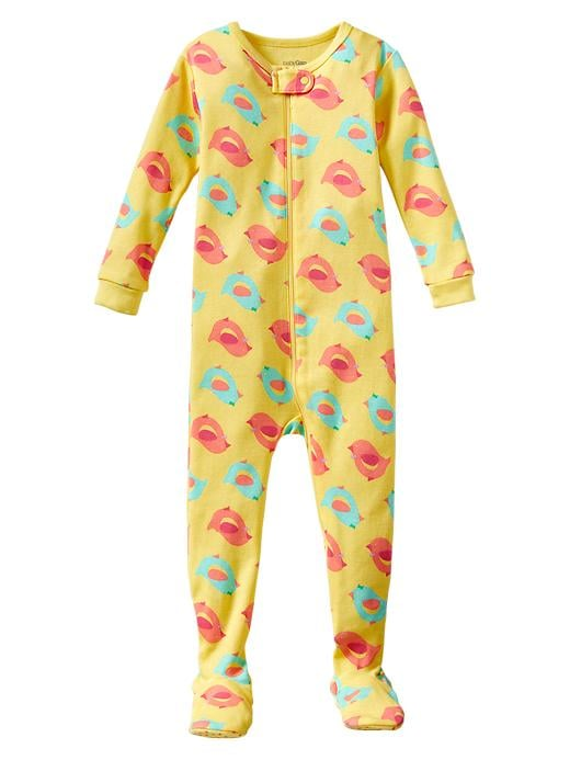 Gap Little Chick Footed Pajamas