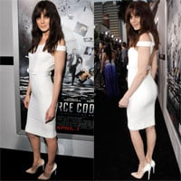 Michelle Monaghan Wears Versace at the LA Premiere of Source Code