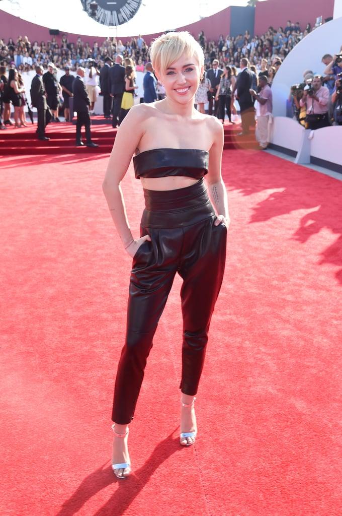 Miley Cyrus at the 2014 MTV VMAs