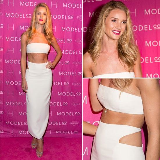 Zoom in On Rosie Huntington-Whiteley's White Hot Look