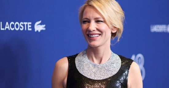 Cate Blanchett Is A Freaking Babe In Versace