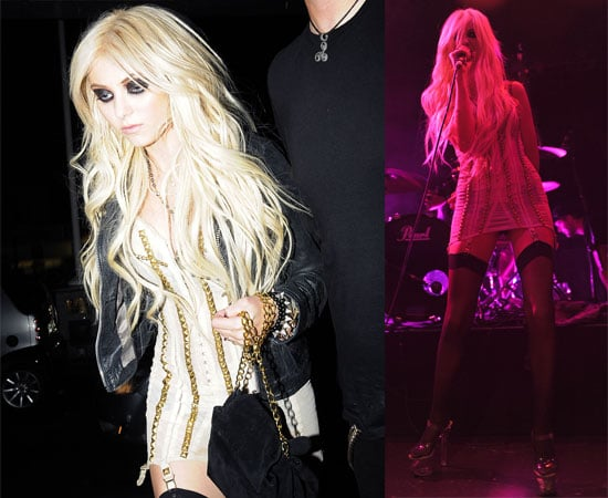 Pictures and Video of Taylor Momsen Performing With The Pretty Reckless In London