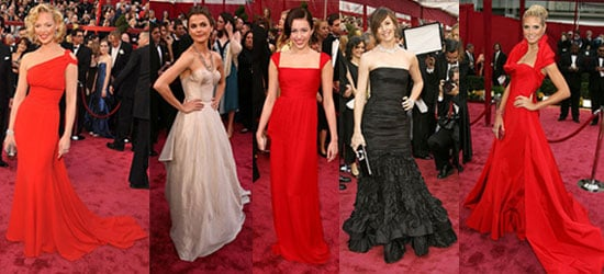 2008 Oscars: Best Dressed