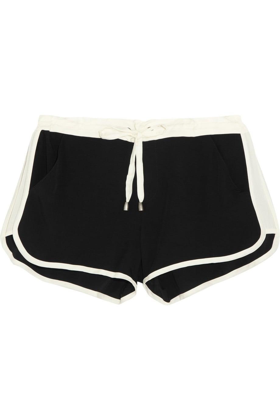 Splendid satin-jersey shorts ($95)