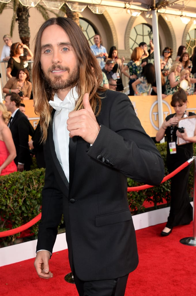 """Jared Leto Takes the Trophy with the """"Hottest Date in Town"""""""