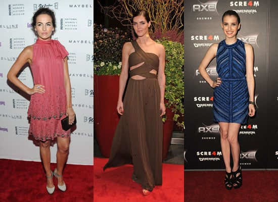 This Week's Top Ten Celebrity Fashion From camilla belle, emma roberts, kristin belle, olivia palermo, emma stone