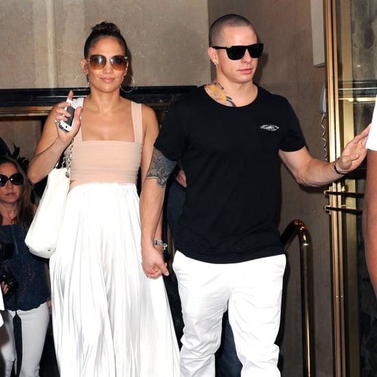Jennifer Lopez Birthday Lunch Pictures With Casper Smart