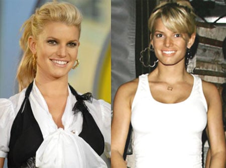 Do You Prefer Jessica Simpson With or Without Bangs?