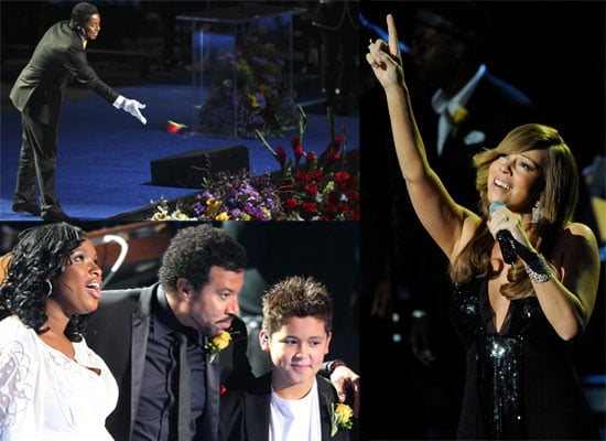 Photos Of Michael Jackson's Memorial Service, Plus Video Of Shaheen Jafargholi's Tribute To Michael At The Staples Center In LA