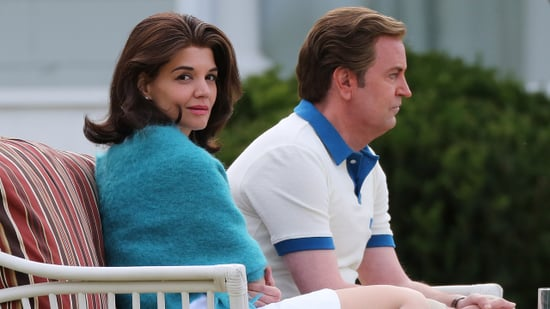 Matthew Perry & Katie Holmes Look Spot-On as Ted and Jackie Kennedy on 'After Camelot' Set