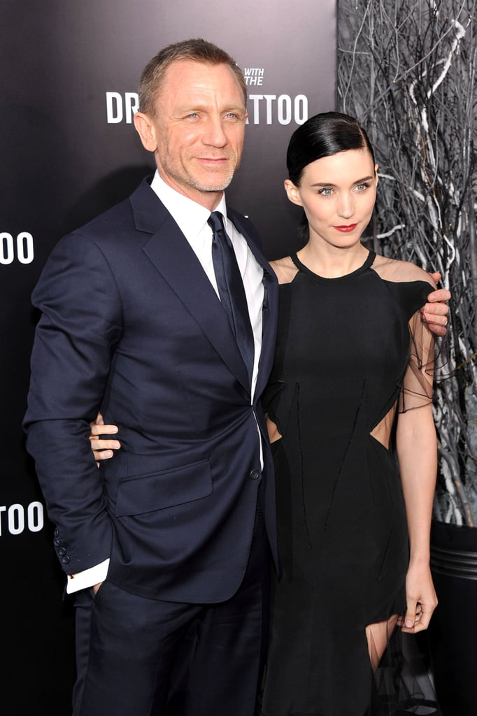 Daniel Craig and Rooney Mara were a united front at NYC's Ziegfeld Theatre.