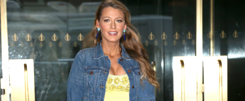 Blake Lively Is Back on the Scene, Dressing Like Disney Princesses