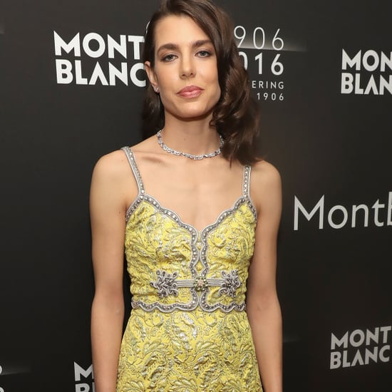Charlotte Casiraghi in Gucci Dress at Monblanc Party 2016