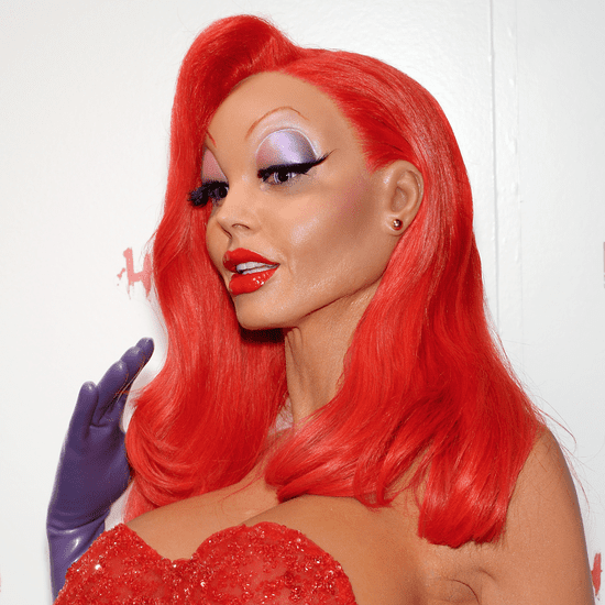 Heidi Klum's Jessica Rabbit Halloween Transformation