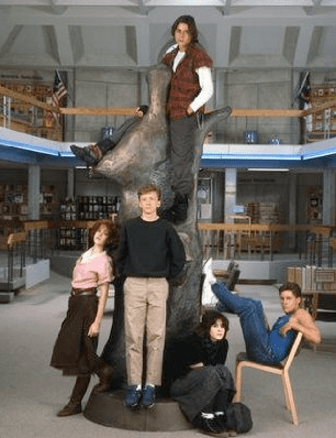 Photos From John Hughes's Movie The Breakfast Club