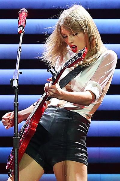 Stringing Her Guitar