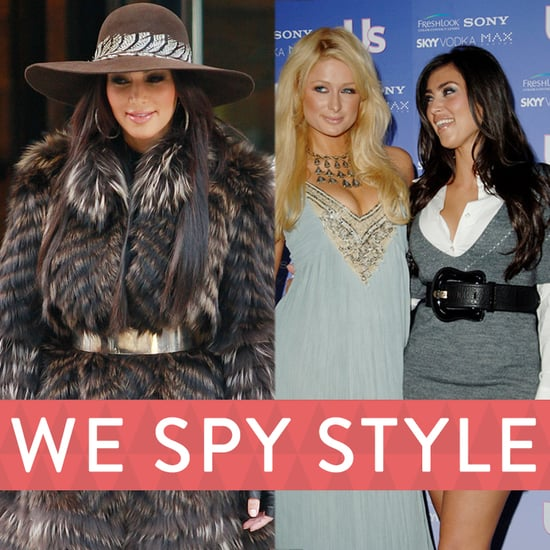 Kim Kardashian's Old Outfits | We Spy Style
