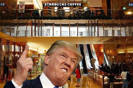 People Are Pledging To Buy Gift Cards If Starbucks Dumps Trump Tower