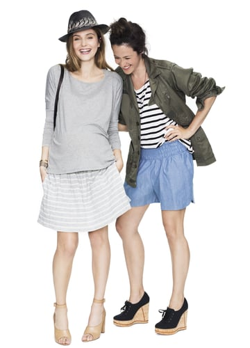 Hatch Daytime Skirt and Long-Sleeve Tee