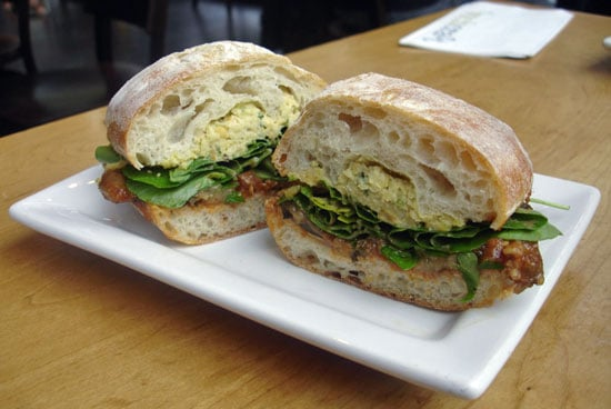 Recipe For 'Wichcraft Chopped Chickpeas and Roasted Red Pepper Sandwich