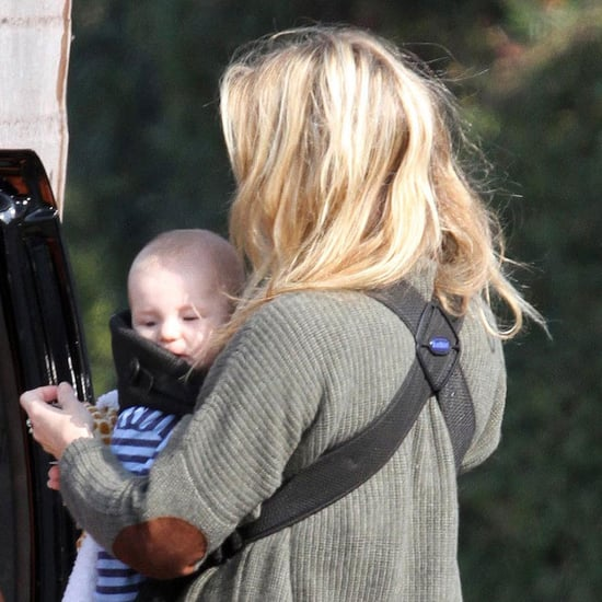 Pictures of Kate Hudson and Bing at Six Months in LA