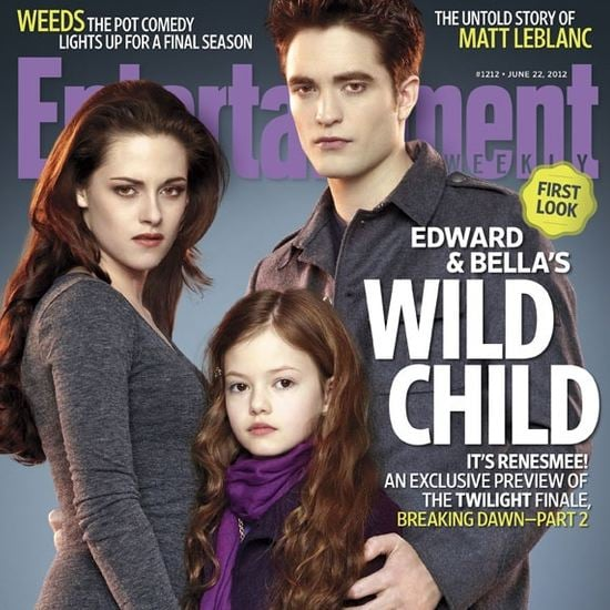 Breaking Dawn Part 2 Entertainment Weekly Cover (Video)