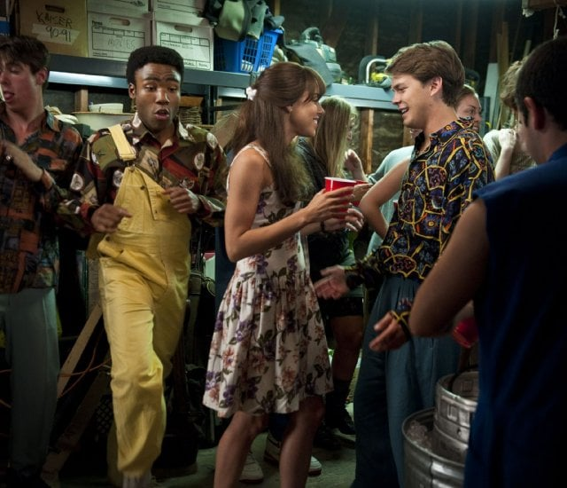 Whoomp! There it is — the overalls, the floral dress, it's all happening . . .  Source: CBS Films