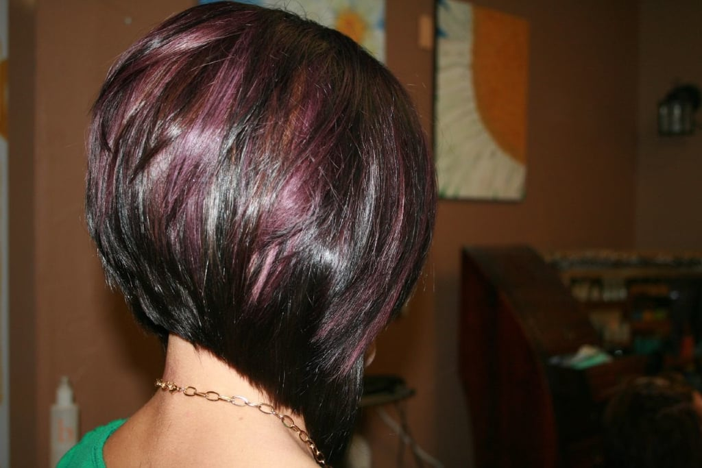 Wine-toned Wedge