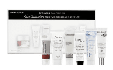 Wednesday Giveaway! Sephora Face Quenchers Moisturizers Deluxe Sampler