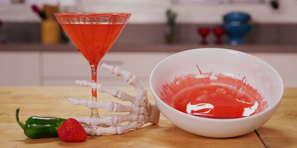 Make This Bloody Good Vampire Martini Your Signature Halloween Drink