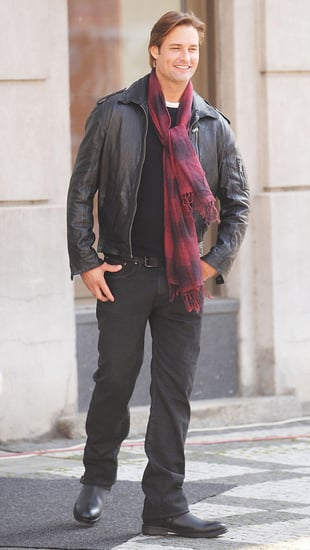 Pictures of Josh Holloway on the Set of Mission: Impossible 4 in Prague