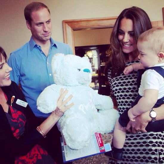 Prince George Meeting New Zealand Children
