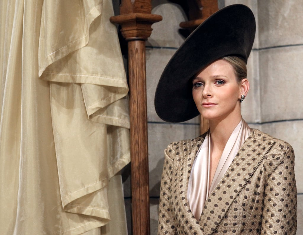 Looking like a true princess, Charlene Wittstock attended a mass in the Cathedral of Monaco as part of the official ceremonies for the Monaco National Day in November 2010. Source: Getty / Valery Hache/AFP