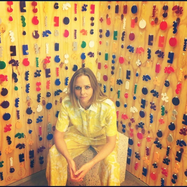 Stella McCartney attended a launch for her new store in Barcelona. Source: Instagram user stella_mccartney