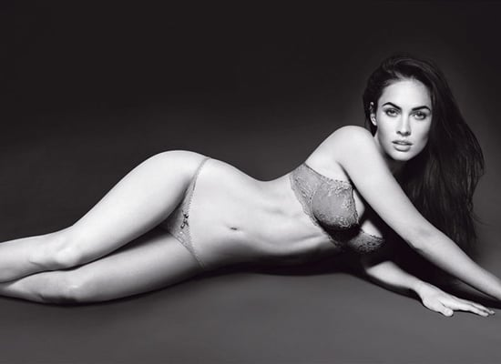 Megan Fox in Emporio Armani Underwear and Armani Jeans Spring 2010 Ads 2010-01-12 09:37:41