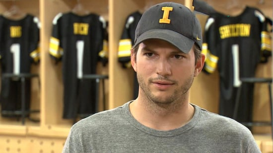 EXCLUSIVE: Ashton Kutcher Reveals His 'Secret Passion for Singing,' Says He Wants Blake Shelton on 'The Ranch'