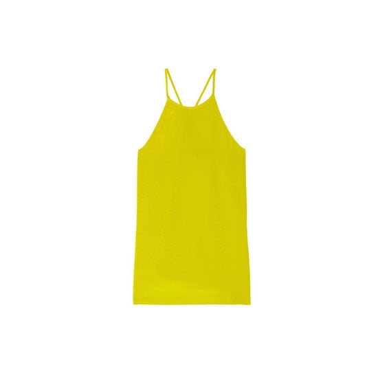Racer-necklines are great for shoulders that deserve to be shown off. Often they're a forgotten part of a woman's body, but understatedly sexy.— Laura, shopstyle.com.au country manager Top, approx $237, Tibi at Net-a-Porter