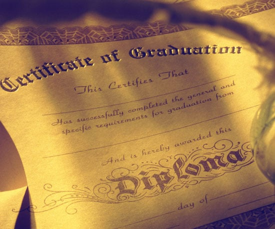 Con: Diploma Is Collecting Dust