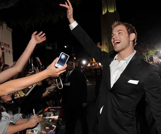 Slide Photo of Kellan Lutz at New Moon Premiere