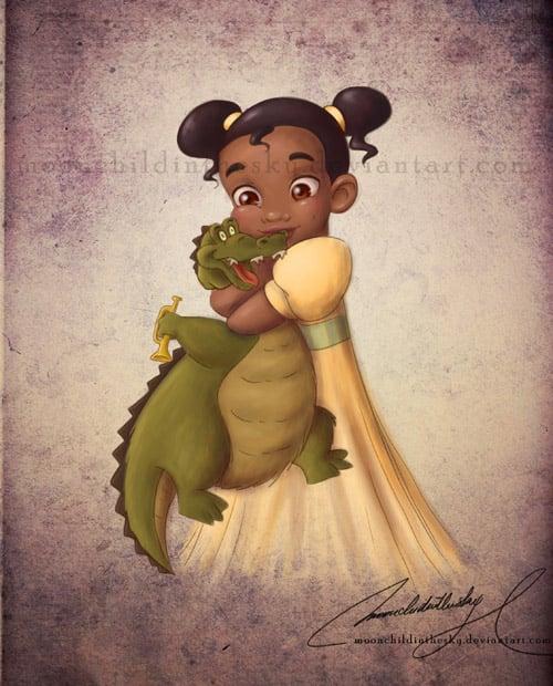 Child Princess Tiana