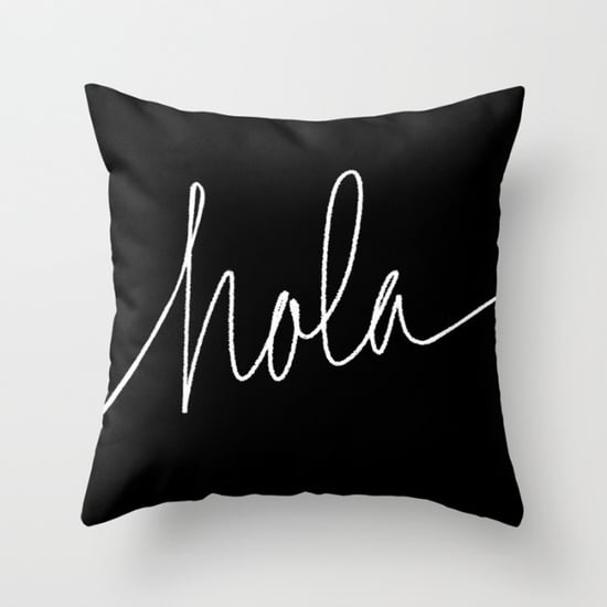 Decorative Pillows With Spanish Phrases