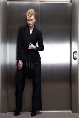 Jean Paul Gaultier Injects a Razor Sharp Edge Into His Pre-Fall 2011 Collection