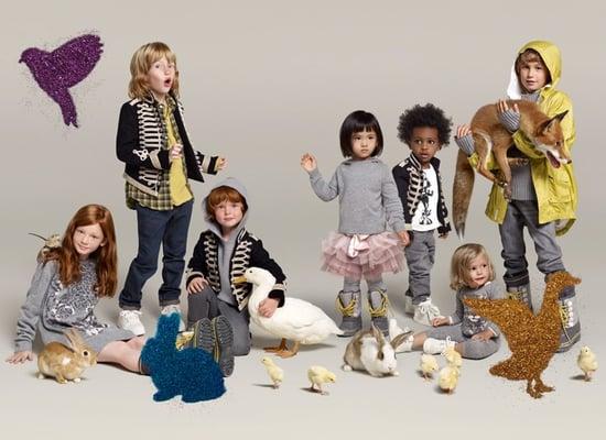 Stella McCartney's Designs For BabyGap and GapKids Debuts