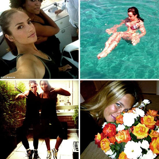 Pictures of Celebrities and Models on Twitter Aug. 29, 2011