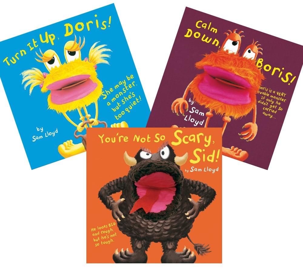 Sam Lloyd Pop-Up Puppet Books
